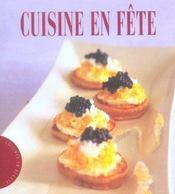 Cuisine en fete - Intérieur - Format classique