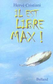 Il Est Libre Max ! - Intérieur - Format classique