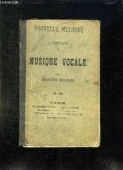 Nouvelle Methode Elementaire De Musique Vocale. - Couverture - Format classique