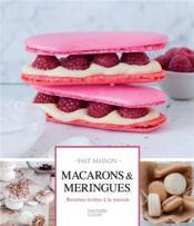 Macarons & meringues - Couverture - Format classique