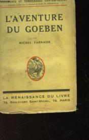 L'Aventure Du Goeben - Couverture - Format classique