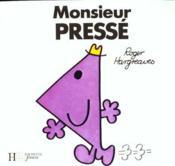 Monsieur Pressé - Couverture - Format classique