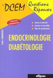 Endocrinologie Diabetologie Nouveau Programme - Intérieur - Format classique