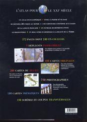 Grand Atlas Gallimard Pour Le Xxie Siecle - 4ème de couverture - Format classique