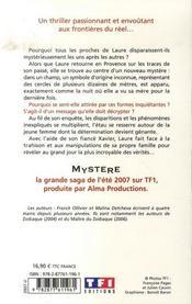 Mystère - 4ème de couverture - Format classique