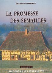 La promesse des semailles - Couverture - Format classique
