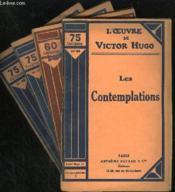 LES CONTEMPLATIONS - N° 55 à 59 - Couverture - Format classique