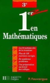 Mathematiques En 3° - Couverture - Format classique