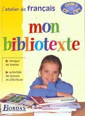 Français ; cycle 2 ; manuel de l'élève - Intérieur - Format classique