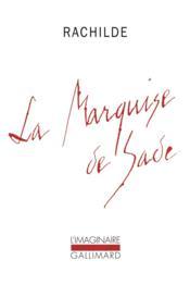 La Marquise de Sade - Couverture - Format classique