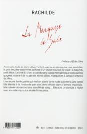 La Marquise de Sade - 4ème de couverture - Format classique