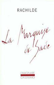 La Marquise de Sade - Intérieur - Format classique