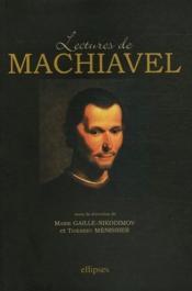 Lectures de Machiavel - Couverture - Format classique