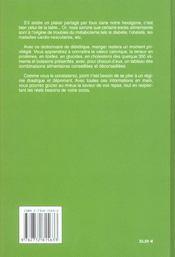 Dictionnaire De Dietetique - 4ème de couverture - Format classique