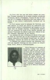 Langage Et Poesie Chez Senghor - 4ème de couverture - Format classique