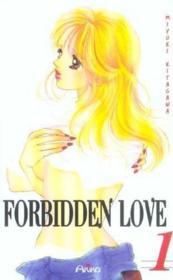 Forbidden love t.1 - Couverture - Format classique