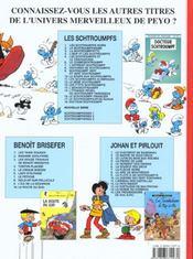 Schtroumpferies t.3 - 4ème de couverture - Format classique