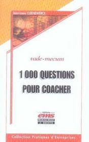 1000 questions pour coacher - Intérieur - Format classique