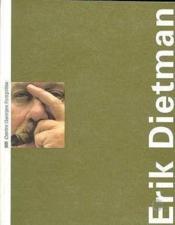 ERIK DIETMAN. Catalogue d'exposition - Couverture - Format classique