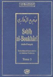 Sahîh al-Boukhârî t.3 - Couverture - Format classique