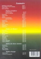 Catalogue dallay ; catalogue de cotations timbres d'andorre, monaco, terres australes, europa 2005-2006 - 4ème de couverture - Format classique