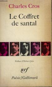 Le Coffret De Santal. Collection : Poesie. - Couverture - Format classique