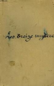 Les Treize Mysteres. - Couverture - Format classique