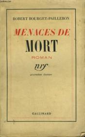 Menaces De Mort. - Couverture - Format classique
