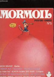 Mormoil N°5 - Revue Osee - Couverture - Format classique