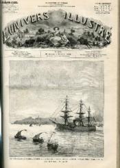 L'UNIVERS ILLUSTRE - VINGT-HUITIEME ANNEE N° 1588 Les funéralles de l'amiral Courbet - Couverture - Format classique