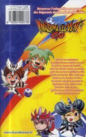Inazuma eleven go T.3 - 4ème de couverture - Format classique