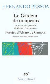 Le gardeur de troupeaux et les autres poèmes d'Alberto Caeiro avec poésies d'Alvaro de Campos - Intérieur - Format classique