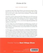 East Village blues - 4ème de couverture - Format classique