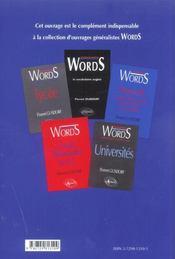 Trans Words Plus De Theme Anglais 5000 Phrases De Theme Corriges - 4ème de couverture - Format classique