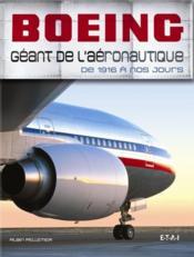 Boeing, géant de l'aéronautique - Couverture - Format classique