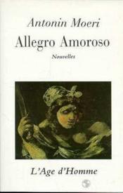 Allegro Amoroso - Couverture - Format classique