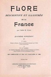 Flore descriptive et illustrée de la France t.4 - Intérieur - Format classique