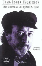 Mes chansons des quatre saisons (2e édition) - Intérieur - Format classique