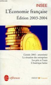 L'Economie Francaise 2003-2004 - Couverture - Format classique