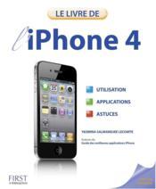 Le livre de l'iPhone 4 - Couverture - Format classique