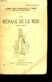 Contes De Noel. Un Menage De La Mer. - Couverture - Format classique