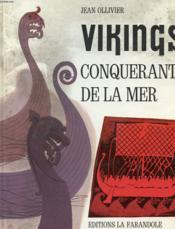 Vikings - Conquerants De La Mer - Couverture - Format classique