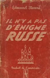 Il N'Y A Pas D'Enigme Russe - Couverture - Format classique