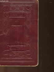 Le Saint Evangile De Jesus Christ Selon S. Mathieu - Couverture - Format classique