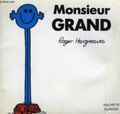 Monsieur Grand - Couverture - Format classique