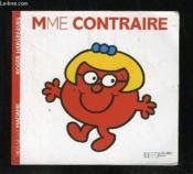 Madame Contraire - Couverture - Format classique