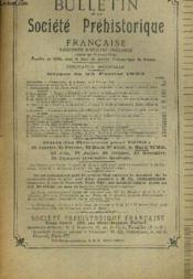 Bulletin De La Societe Prehistorique Francaise. T. Xxx. N°2. Fevrier 1933. - Couverture - Format classique