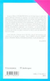 La socioanalyse ; imaginer, coopter - 4ème de couverture - Format classique