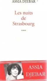 Les nuits de strasbourg - Couverture - Format classique