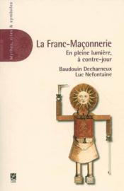 La franc-maçonnerie - Couverture - Format classique